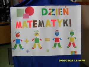Dzień Matematyki Sp Nr 25 W Elblągu