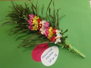 Wielkanocny konkurs ogłoszony przez świetlicę przy SP nr 25 na najładniejszą tradycyjną palmę wielkanocną rozstrzygnięty