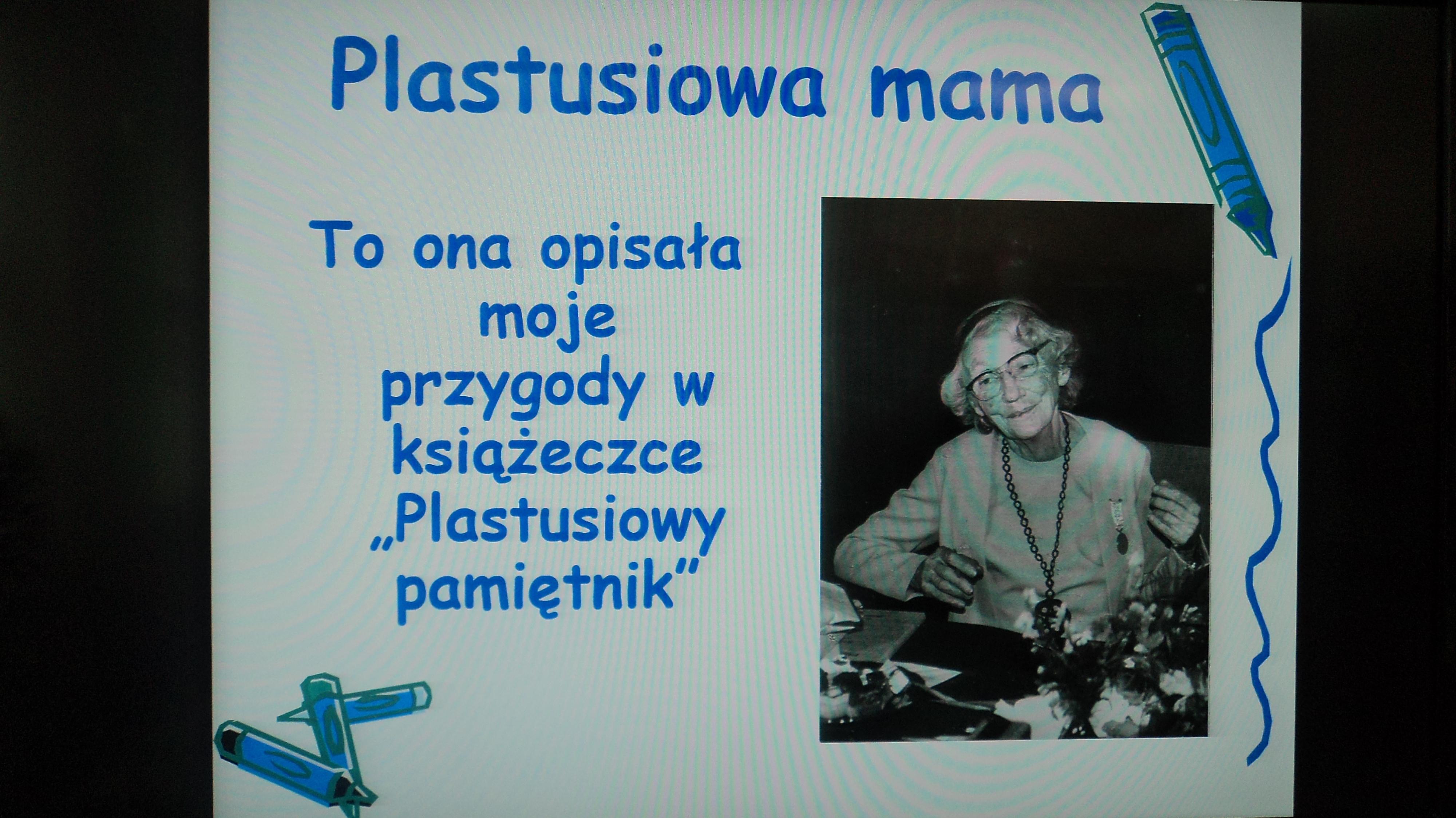 MARIA KOWNACKA- PLASTUSIOWA MAMA