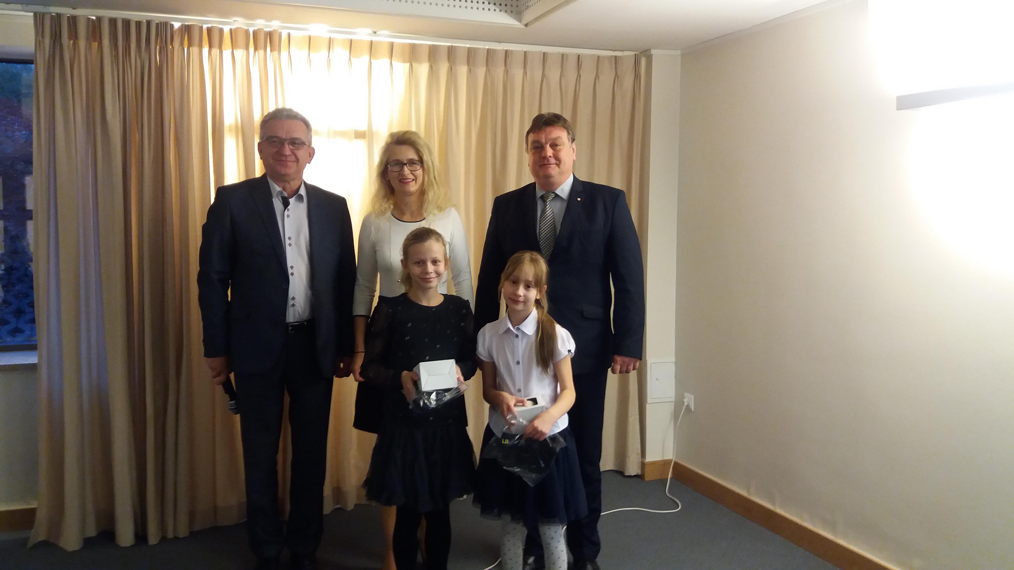 Z wizytą u pana Prezydenta Wróblewskiego.
