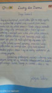 """"""" List dla Ziemi"""""""