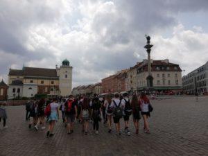 Poznawanie zabytków i miejsc pamięci stolicy – wyjazdy edukacyjne do Warszawy.