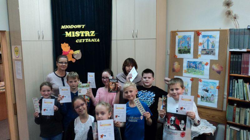 MIODOWY MISTRZ CZYTANIA- konkurs pięknego czytania